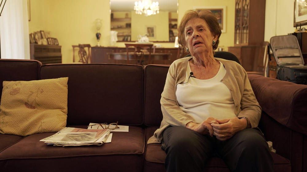 As a Jewish child, Rosina Asser-Pardo was hidden during the occupation. Photo: Dimitris Polidoropoulos